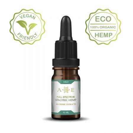 Spagyric Mild Body Hemp oil