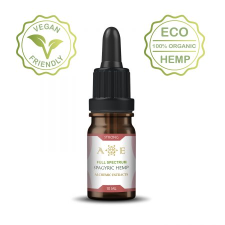 Spagyric Strong Body Hemp oil