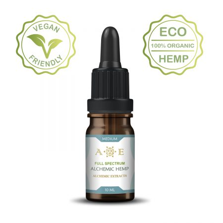 Alchemic Medium Body Hemp oil