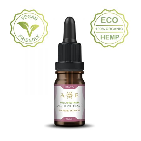 Alchemic Strong Body Hemp oil